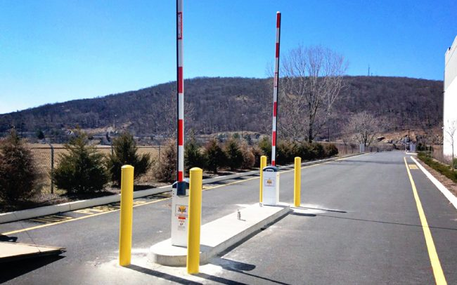 Entrance Barrier and Exit Barrier Arm