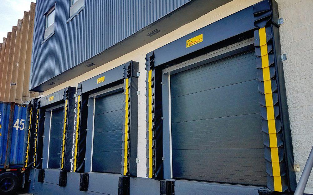 Wood Ridge, NJ: Wayne Dalton Sectional Doors, Pentalift Dock Seals & Dock Levelers.